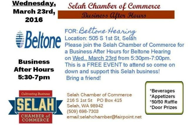 Selah Chamber Business After Hours