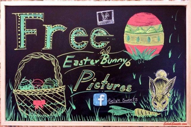Easter Bunny Art in Selah