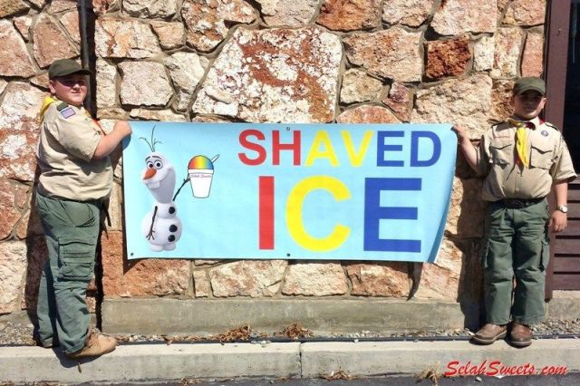 Shaved Ice in Selah