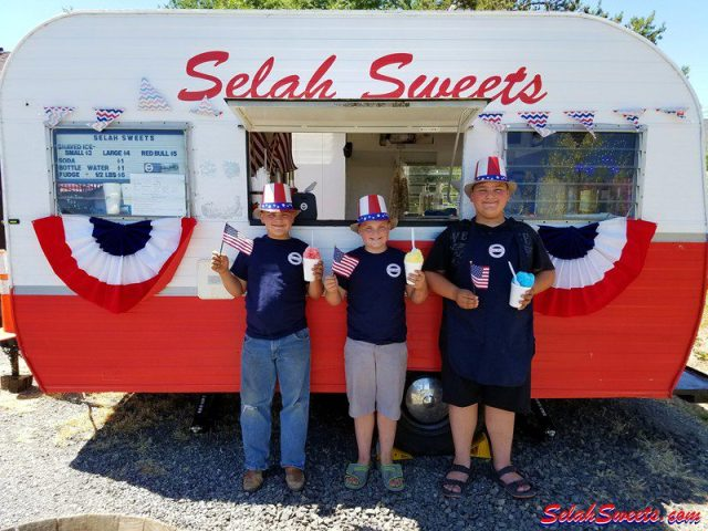 Selah Sweets Independence Day Shaved Ice