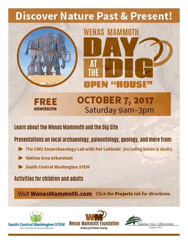Wenas Mammoth Day at the Dig