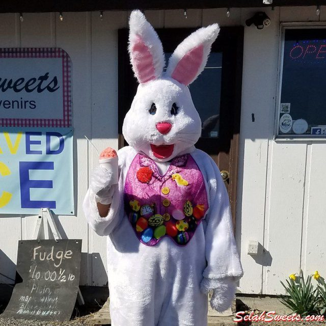 Easter Bunny - Tigers Blood Shaved Ice