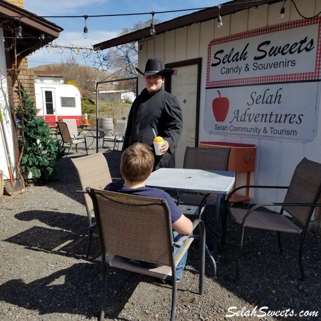 Selah Sweets Cactus Juice Shaved Ice