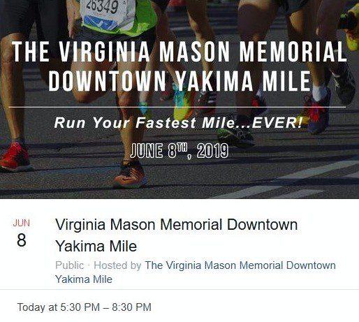 The Virginia Mason Memorial Downtown Yakima Mile