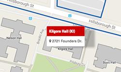 Kilgore Hall Map