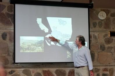 Christof at the ANU School of History seminar
