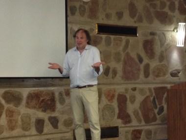 Christof at the seminar