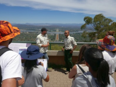 ACT Parks and Conservation Service Murumbung Rangers at Mt Ainslie