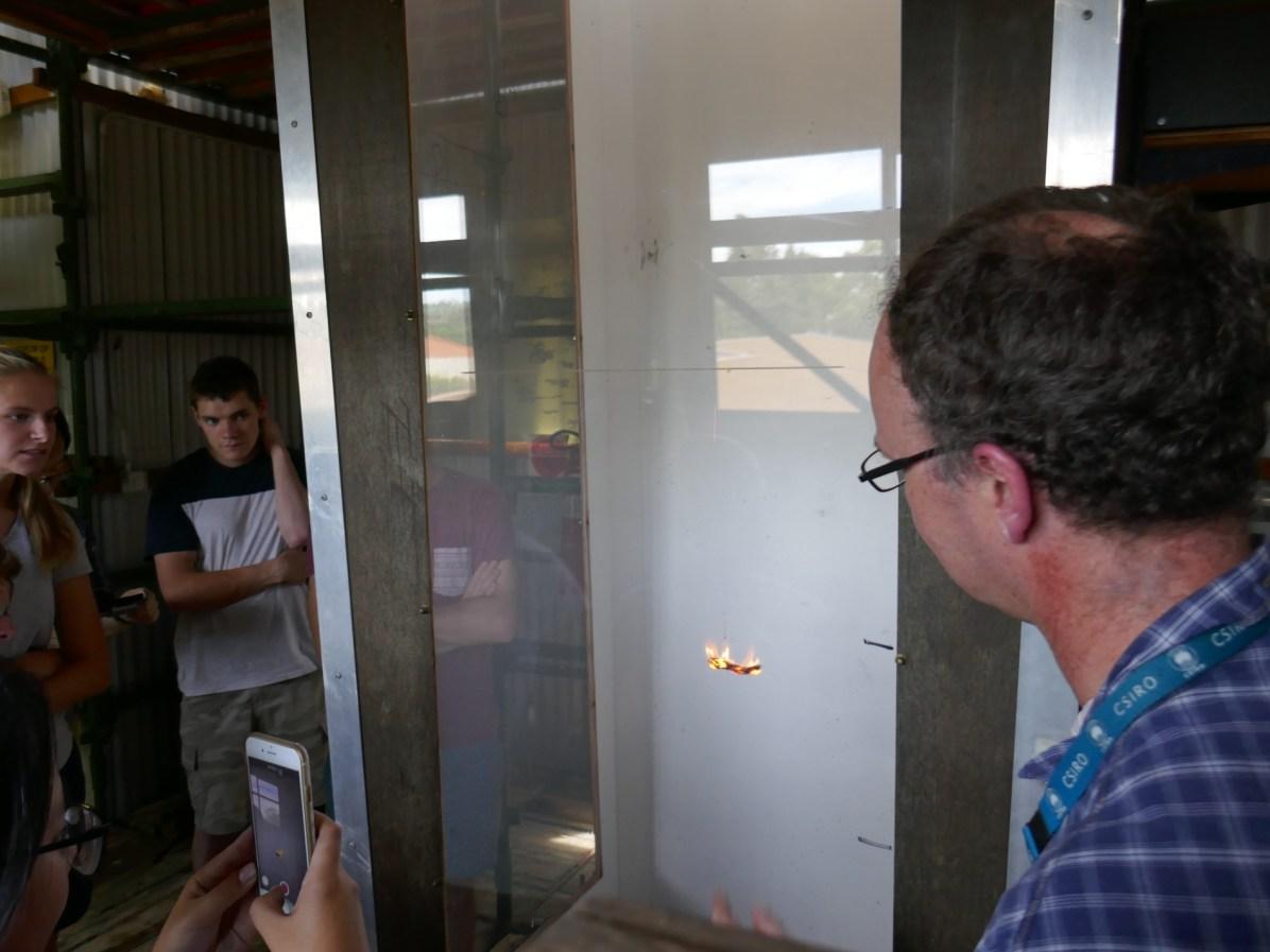 CSIRO's vertical wind tunnel