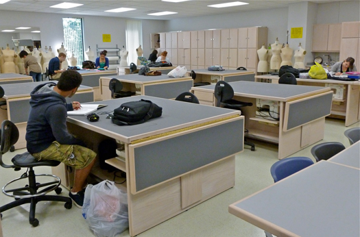 TCDs Apparel Design Studio Renovation Heading to