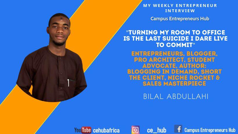 Weekly entrepreneur interview
