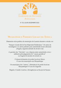 Caderno de Estudos Africanos, Número 30