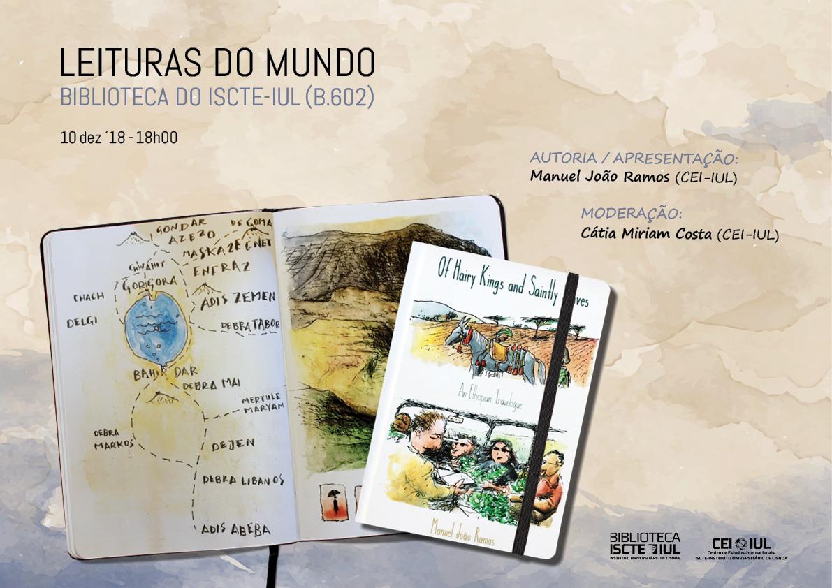 HOJE não perca a apresentação do livro do investigador Manuel João Ramos