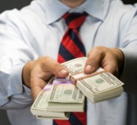 Image result for handing out money
