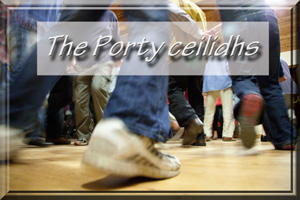 The Porty ceilidhs logo