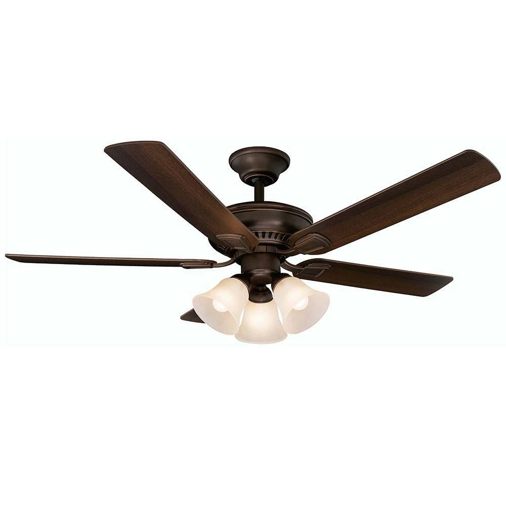 hight resolution of hampton bay campbell mediterranean bronze ceiling fan with remote control manual