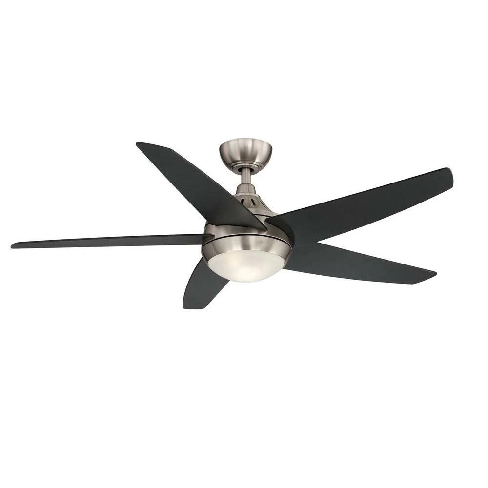 hight resolution of hampton bay etris led brushed nickel ceiling fan manual