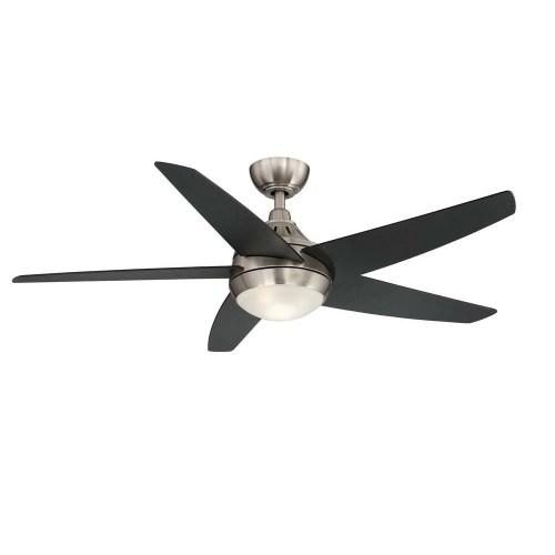 small resolution of hampton bay etris led brushed nickel ceiling fan manual