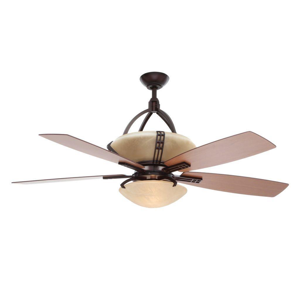 Hampton Bay Miramar Weathered Bronze Ceiling Fan Manual