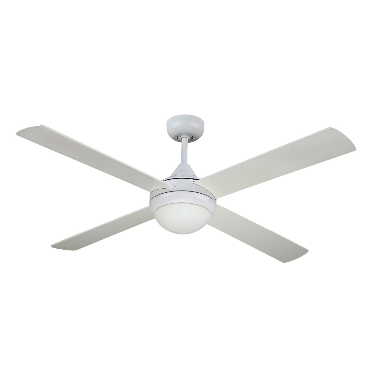 Revolve 48 Inch Ceiling Fan White with Light (2xE27