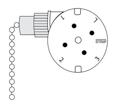 Zing Ear ZE-208s 4 Wire 3 Speed Fan Switch