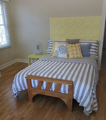 Ceiling Tile Headboards  Redecorate Your Bedroom  CeilingTileIdeascom