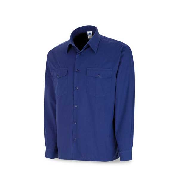 camisa manga larga azulina