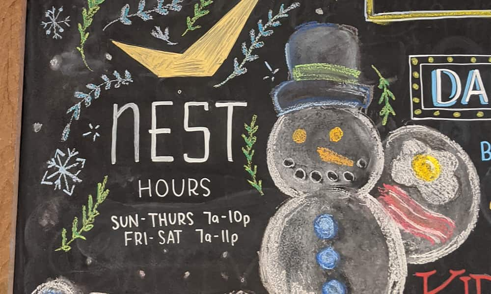 CeindyDoodles Chalkboard NEST January Details on Chalk Snowman