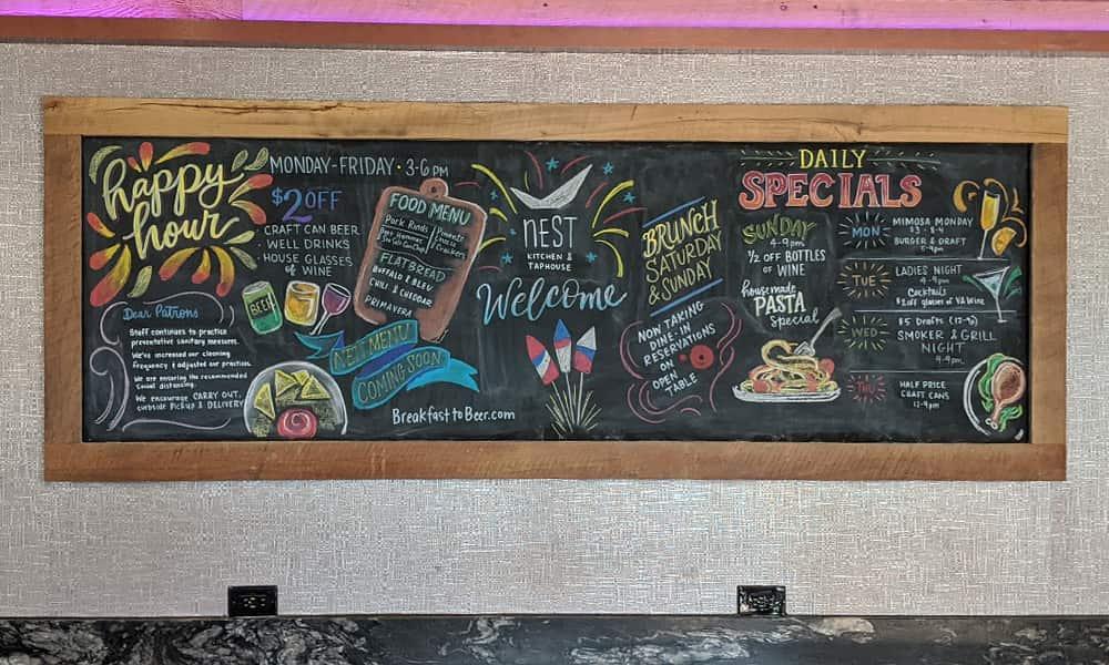 CeindyDoodles Chalkboard NEST July
