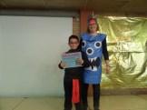 Carlos de 2º de primaria . Premio ao postre mellor presentado.