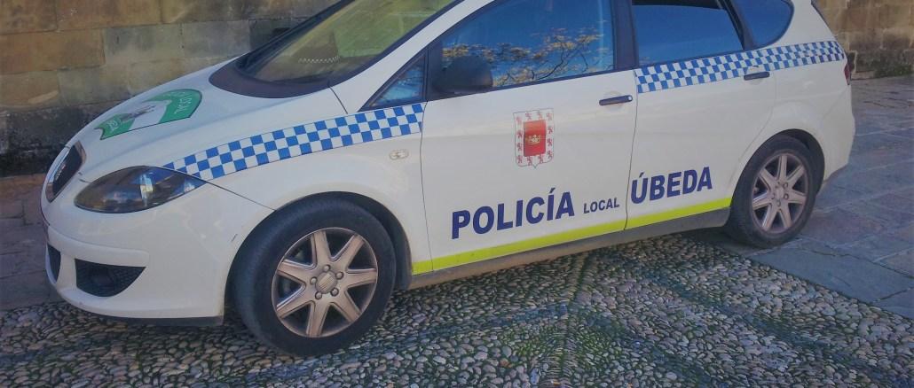 Coche_Policía_Local_Úbeda