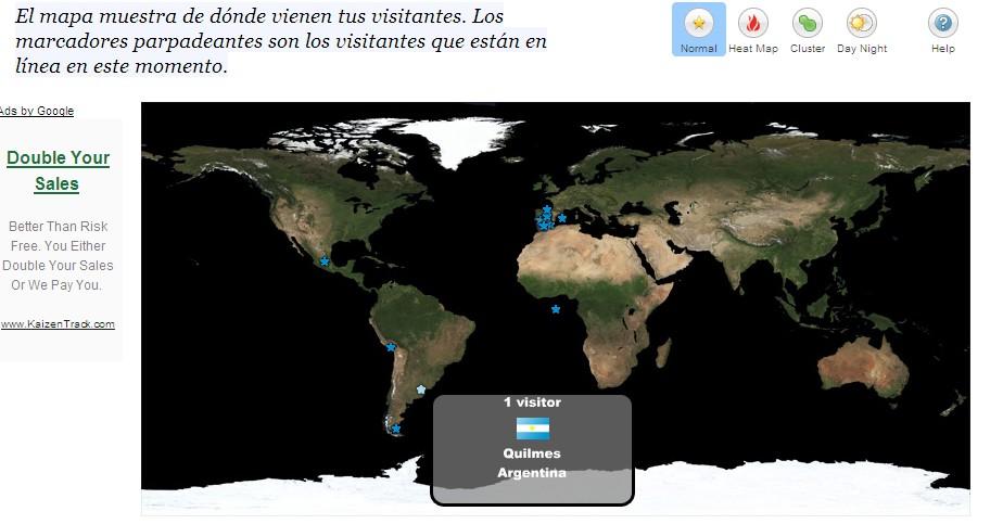 Mapa de visitas ceipsanbernardo