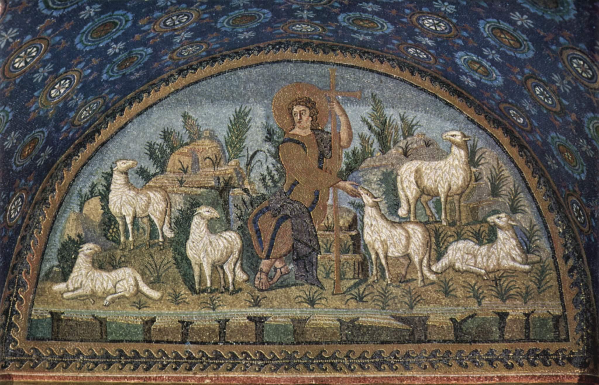 early christian mosaic