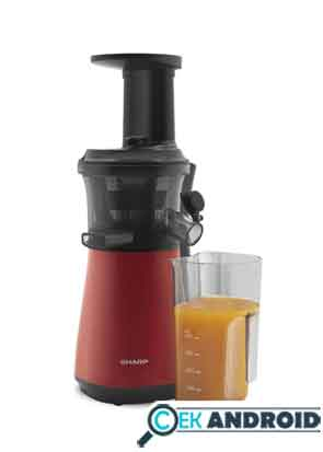 review slow juicer sharp