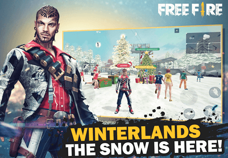 Free Fire Winterlands