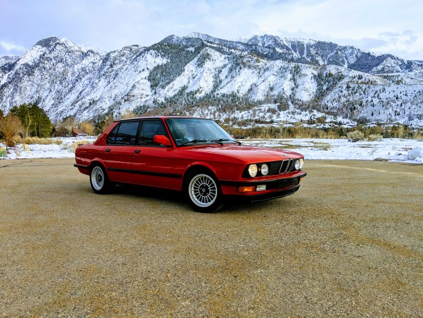 "1987 BMW 535is E28 ""Vlad"""