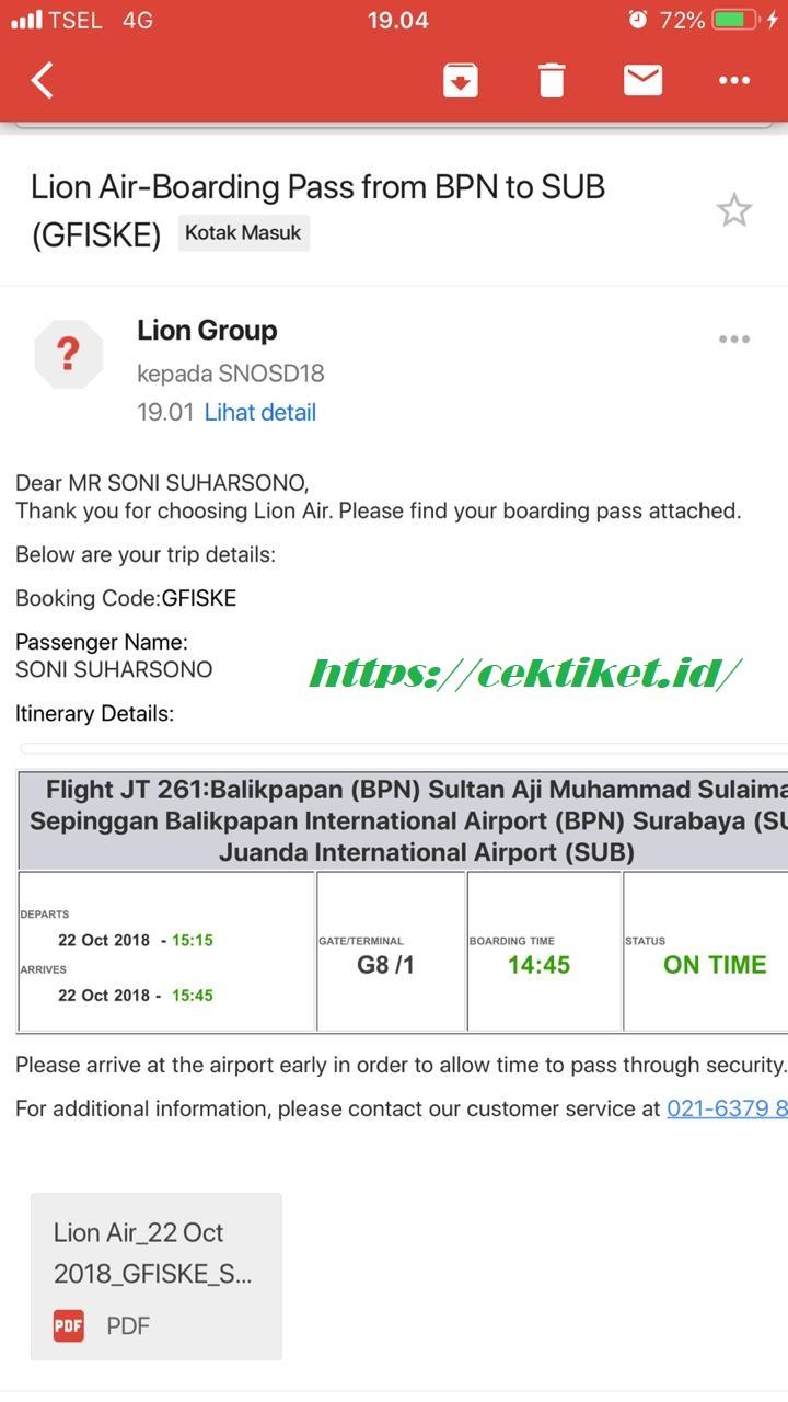 Cek Kode Booking Lion : booking, Beginilah, Mudah, Check, Online, Terbaru, Desember, Tiket