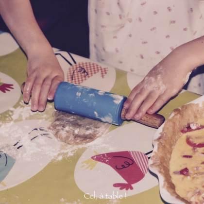 Apprendre à étaler la pâte au rouleau à pâtisserie