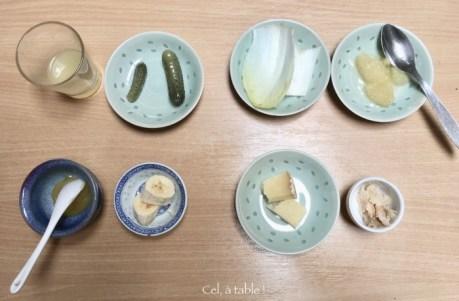 Les aliments à deviner