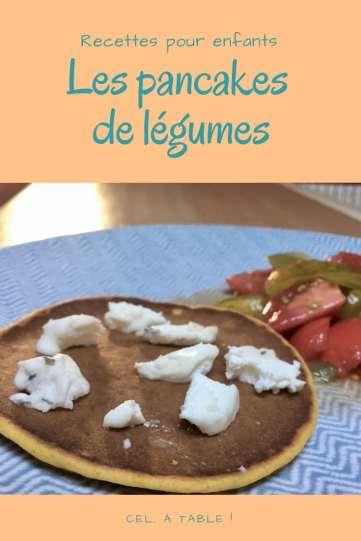 pancakes de légumes à partir de purée ou velouté