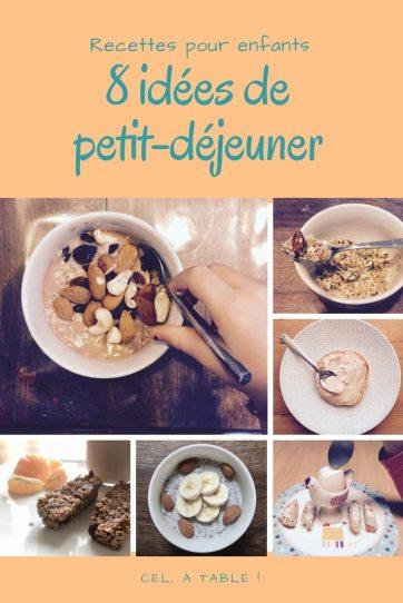 8 idées de petit-déjeuner pour les enfants