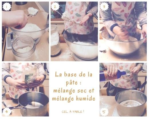 Les étapes de base pour préparer une pâte à biscuits