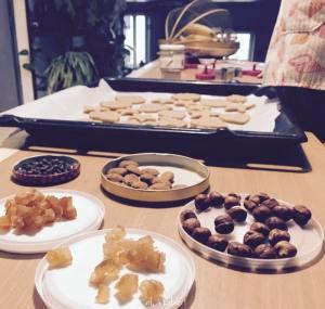 Les ingrédients pour décorer les biscuits