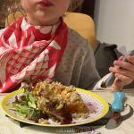 La recette rapide de crumble courge butternut rôtie, noisettes et chèvre