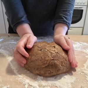 faire une boule de pâte