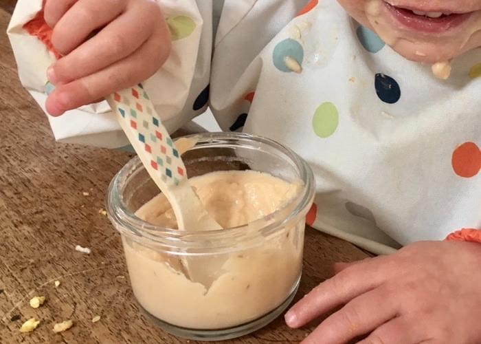 dégustation crème bébé