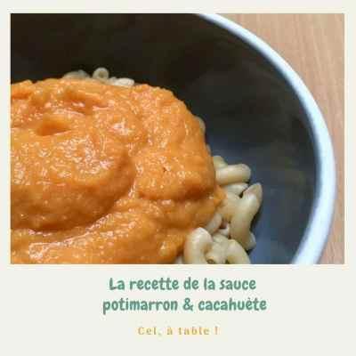 recette de sauce pour pâtes potimarron et cacahuète