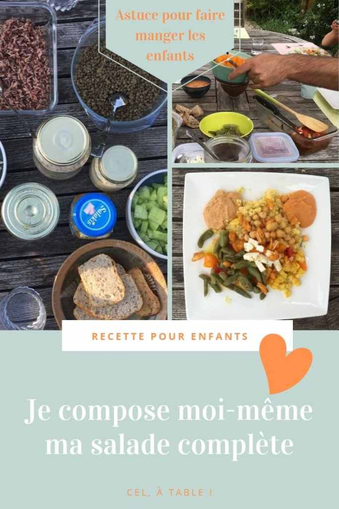 Comment Faire Aimer La Salade Complete Aux Enfants Cel A Table