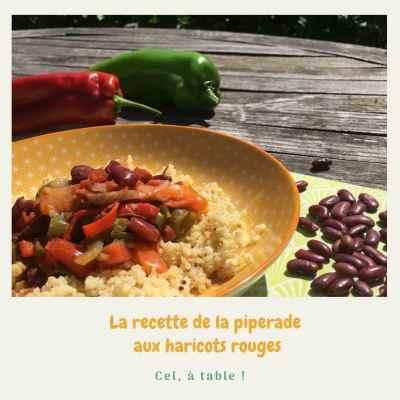 recette de piperade aux haricots rouges
