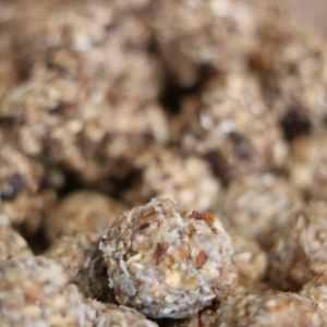 boules d'énergie coco-cacahuète